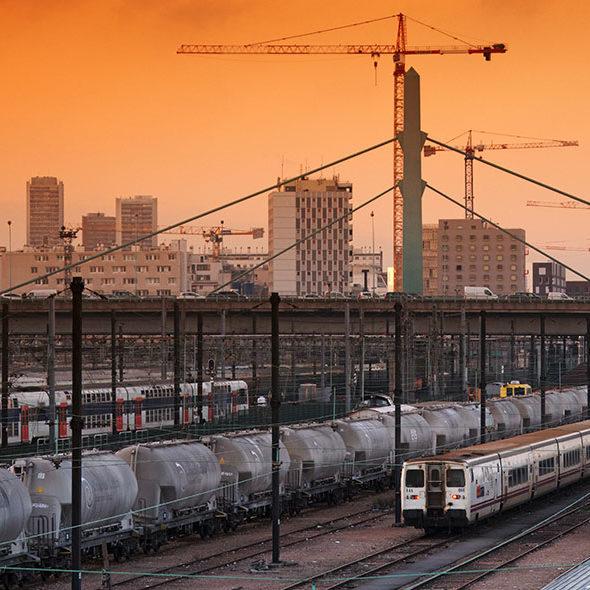 train banlieue