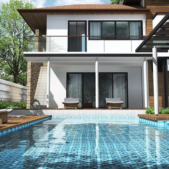 carrelage mosaïque pour une piscine