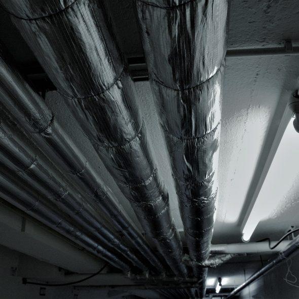 tuyaux de chauffage calorifuge